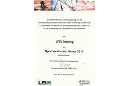 ATV Irdning Sportverein 2014